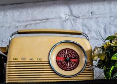 Bush (JKmedia) Tags: old plant lines radio circle handle bush technology pointer cream progress dial device retro manmade wireless audio beaulieu manufactured yesteryear splashofred 15challengeswinner canoneos7dmarkii boultonphotography
