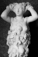 la nature (jaypchances) Tags: sculpture art statue frankrijk marble chateau artemis fertility fontainebleau
