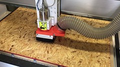 Routing (RobotSkirts) Tags: wood router cnc osb cncrouter