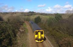 150232 near Carnon Downs, Truro (Marky7890) Tags: train cornwall gwr sprinter dmu 2f85 class150 carnondowns 150232 maritimeline