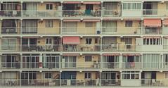 Ticky-tacky (JoseAlbur) Tags: city building apartments terraces mallorca tickytacky