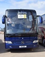 5JLX  Jeakins, Thorpe (highlandreiver) Tags: bus mercedes benz coach 5 rally lancashire thorpe blackpool coaches tourismo jeakins jlx 5jlx
