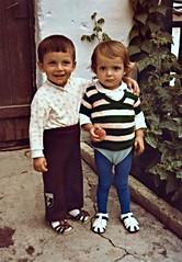 Ali Mmn & Semra, Polyanovo 1982 (ali eminov) Tags: girls boys children bulgaria semra bulgaristan polyanovo markomale alimumun