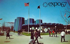 Vintage Expo 67 Postcard, The 1967 Montreal World's Fair - State Of New York Pavilion (France1978) Tags: montreal worldsfair expo67 vintageexpo67 the1967montrealworldsfair