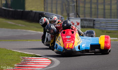 Wirral Hundred, Oulton Park 23-04-2016 (wiganworryer) Tags: park car bike tarmac sport race canon lens ian outside photography prime one photo championship outfit track image bell action outdoor side picture keith racing full motorbike hundred cycle frame l series fixed british motor 100 f2 f56 gibson circuit sidecar motorsport motorcyle wirral 6d 400mm 2016 oulton wiganworryer