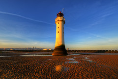 NEW BRIGHTON LIGHTHOUSE (PERCH ROCK), NEW BRIGHTON, MERSEYSIDE, ENGLAND. (ZACERIN) Tags: paul brighton the in new christopher nikon brighton river photography rock sea hdr nikon image uk irish lighthouse lighthouse hdr england liverpool mersey rock seaside lighthouses lighthouses d800 d800 lancashire merseyside perch perch eddystone eddystone zacerin wirral