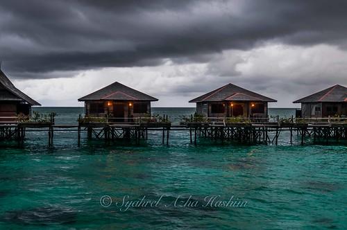 Dark clouds...