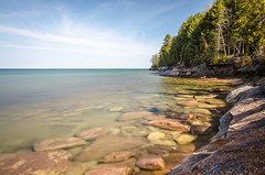 Sunken Treasure (Aaron Springer) Tags: longexposure nature landscape spring outdoor michigan shoreline lakeshore april lakesuperior thegreatlakes upperpeninsulaofmichigan