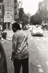 AA017a (heavyasmountains) Tags: nyc newyorkcity blackandwhite slr film 35mm photography nikon candid streetphotography noflash 24mm fm3a filmphotography streetstyle