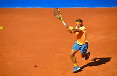 Rafael Nadal ganando el Conde de Godó, Barcelona. (eustoquio.molina) Tags: rafael nadal tenis tennis barcelona deporte sport tierra batida rafa