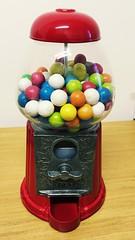 My personal Gum-ball machine!  (bebapelle) Tags: birthday love gum amazing colours machine gift bday colori compleanno regalo gumball auguri distributore