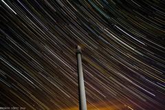 Startrails caxado (breijar - MARCOS LOPEZ ALONSO) Tags: noche startrails largaexposicin circumpolar eolicos eolico caxado trazas