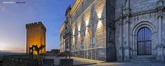 Monasterio San Vicente do Pino - Castillo de San Vicente (actualmente Parador) - Monforte de Lemos (Lugo) (www.webdejaime.com) Tags: galicia monastery lugo monasterio parador monforte monfortedelemos paradordeturismo horaazul sanvicentedopino webdejaime