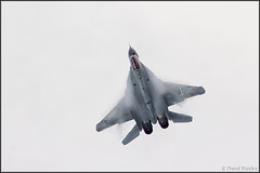 MiG-35 (Pavel Vanka) Tags: vortex plane airplane fly flying fighter russia moscow jet spot airshow planes spotting humidity aerobatic mikoyan maks lii mig29 condense fulcrum mikoyangurevich highg mig35 ramenskoe zhukovskiy mig29m russianairforce highaoa mig29m2