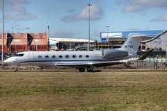 M-YSIX Gulfstream G650ER LTN 04Mar2016 (Citation Ten) Tags: lcy ltn mysix g650