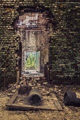 The Way Out (Steven Dijkshoorn) Tags: door abandoned way out doors hole stones decay urbain urbex abanded