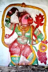 India - Karnataka - Hampi - Hanuman (asienman) Tags: india unescoworldheritagesite hanuman karnataka hampi ramayana hindugoddess vijayanagara asienmanphotography