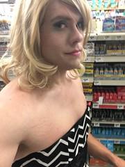 Pushing the cart like my SO's good little house wife! #sissy #slut #crossdress #forcedfeminization #trap #trans #transvestite (anna.brighteyes) Tags: slut sissy transvestite trans crossdress trap forcedfeminization