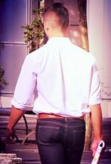 (ManontheStreet2day) Tags: boy ass belt butt twink jeans bluejeans