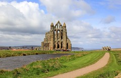 Whitby Abbey - 2016-04-24. In Explore! (BillyGoat75) Tags: abbey gothic whitby northyorkshire eastcoast englishheritage wgw gothweekend