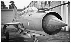 MiG-21BIS : MG-135 Serial : 75084554 (Ciaranchef's photography.) Tags: russian coldwar mig militaryaviation russianaircraft mig21 militaryjets aircraftmuseum vintageaeroplanes finnishaviationmuseum aircraftphotography nikond7000 nikonaviation nikon18300mmf3556gedvr preservedaeroplanes