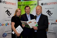 """Maeve O'Mara from IAB, Brian Horgan from The Abbey Theatre, Mark James from MEC • <a style=""""font-size:0.8em;"""" href=""""http://www.flickr.com/photos/59969854@N04/26648742106/"""" target=""""_blank"""">View on Flickr</a>"""