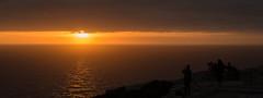 Capturing the sunset (Landreth1) Tags: sunset sea espaa orange sun black sol clouds de ed atardecer 50mm islands spain nikon horizon photographers cap end d750 nikkor fx mallorca islas horizonte baleares posta formentor balearic fotografos calido nikond 14g calid