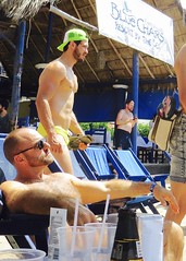 IMG_0887 (danimaniacs) Tags: shirtless man sexy guy hat beard mexico muscle muscular hunk cap puertovallarta stud scruff