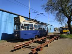GVBA tram 909 Amsterdam museum (Arthur-A) Tags: netherlands amsterdam museum nederland tram streetcar tramway museumtram strassenbahn electrico tranvia gvb tramvia gvba 3asser drieasser 3axel