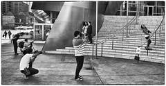 3 x Modelling (Rolf Siggaard) Tags: street people bw monochrome blackwhite losangeles candid c1 captureone mirrorless niksilverefexpro2 fujix100s x100s 23mmapsc
