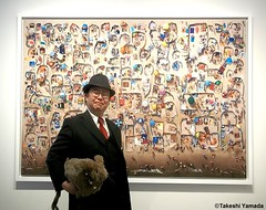 Dr. Takeshi Yamada and Seara (Coney Island Sea Rabbit) at the Chelsea art gallery district in Manhattan, New York on May 12, 2015.  20150512 003=C. Photo by Kacper Kowalski (searabbits23) Tags: ny newyork sexy celebrity rabbit art hat fashion animal brooklyn asian coneyisland japanese star tv google chelsea king artist gallery dragon god manhattan famous gothic goth uma ufo pop taxidermy vogue cnn tuxedo bikini tophat unitednations playboy entertainer oddities genius mermaid amc mardigras salvadordali performer unicorn billclinton seamonster billgates aol vangogh curiosities sideshow jeffkoons globalwarming mart magician takashimurakami pablopicasso steampunk damienhirst cryptozoology freakshow seara immortalized takeshiyamada roguetaxidermy searabbit barrackobama ladygaga climategate  manwithrabbit