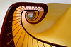 Stairs 20 (Glassholic) Tags: graphism abstract color minimalism yellow familistère guise stair staircase escalier spiral wow 500v50f allfreepicturesseptember2017challenge