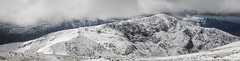 Wintry Carneddau 11 (Ice Globe) Tags: winter panorama white mountain snow mountains cold nature wales 35mm landscape frozen nikon view snowy scenic panoramic views snowing icy snowdonia llewelyn wintry dafydd carneddau carnedd landsacpes d5100