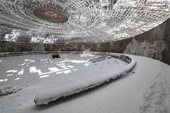 Buzludzha, auditorium 2015 (Alex___Wright) Tags: monument communist bulgaria soviet socialist shipka buzludzha buzludja