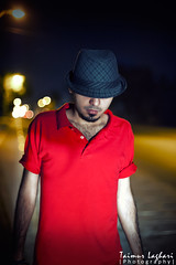 Walking Away! (Taimur Laghari) Tags: portraits walking nikon bokeh away 50mmf14 nightphotograpghy d700 taimurlaghari