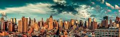 New York City (Bill.Winters) Tags: park new york city nyc sunset skyline sunrise river twilight cityscape central hudson magichour
