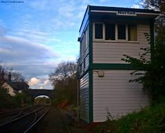 Railway Stationary (Paul GF3) Tags: bridge england lines station railway trains signalbox runcorn merseyside
