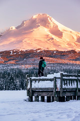 First sunrise of 2016 (brianstowell) Tags: travel winter sun mountain snow cold ice nature sunshine oregon sunrise canon landscape landscapes frozen nw northwest outdoor earth or exploring wanderlust adventure explore mthood pacificnorthwest 5d canon5d exploration westcoast pnw mounthood happynewyear alpenglow cascadia trilliumlake 2016 timberlinelodge travelphotography landscapephotography governmentcamp landscapephotographer portlandphotographer traveloregon exploregon livefolk brianstowell oregonphotographer brianstowellphotography pacificnorthwestphotographer wildernessculture earthporn wildsights liveauthentic brianstowellphotographer brianstowellphoto brianstowellphotos