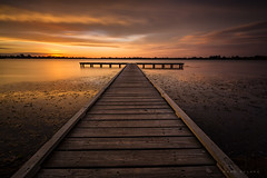 Summer Sunset in Ballarat (Mark McLeod 80) Tags: summer lake water canon jetty ballarat 2016 lakewendouree markmcleod leebigstopper lee12softgrad markmcleodphotography