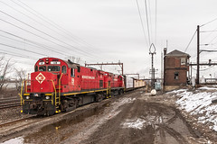 ALCOs at Hudson Tower (sullivan1985) Tags: railroad train newjersey harrison cloudy nj railway local erie february morristown freight alco mo1 hudsoncounty 2016 morristownline c424 morristownanderie morristownerie centerstreetbranch