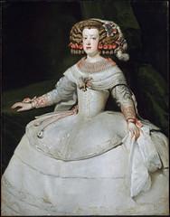 Infanta Maria Teresa, 1653 // by Diego Velazquez (mike catalonian) Tags: portrait female painting fulllength 1653 diegovelazquez 1650s xviicentury