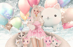 Cat's Paradise (Gabriella Marshdevil ~ Trying to catch up!) Tags: cute sl secondlife kawaii oleander epiphany altair mishmish vco halfdeer theepiphany