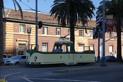 1934 English Electric # 233 (busdude) Tags: street england boat san francisco market tram railway muni streetcar blackpool municipal sfmuni marketstreetrailway englishelectric tramways boattram blackpooltramways
