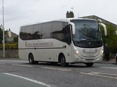 YN09 HDY (Cammies Transport Photography) Tags: road england bus mercedes benz scotland coach edinburgh rugby central v aberdeen ltd coaches specials corstorphine unvi hdy yn09 yn09hdy