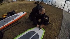 1 (aquaterraorg) Tags: paddle macedonia sup природа aquaterra тренинг kristijan езеро суп веслање veleshko nikodinovski велешко