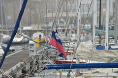 DSC_2198 (angie_amore7) Tags: sea water port marina boats flag slovenia koper
