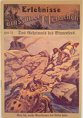Giant squid German dime novel cover (steammanofthewest) Tags: german seamonster 1917 giantsquid castaways dimenovel