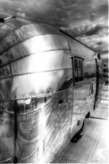 Airstream (nigdawphotography) Tags: camping camp reflection reflections shiny caravan airstream aluminium
