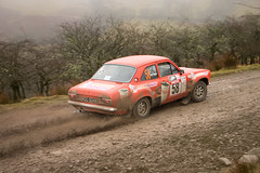 Red Kite Stages 2016 (a.chatfield14) Tags: cars ford mud stage rally dirt escort gravel motorsport aziz autosport mk1 redkitestages tejpar
