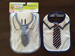 Love these cute tie bibs by Truly Scrumptious designed by Heidi Klum. Have non-abrasive snap buttons for easy closure, soft, absorbent & totally adorable! Machine washable and can be put in the drier, too! #mrdapper #babiesrus #jlsfinds #mommyrecommended (Travel Galleries) Tags: usa baby white cute neck outfit clothing soft heidiklum adorable tie snap clean feed safe easy closure convenient bibs babiesrus onesize ootd jlsfinds mrdapper